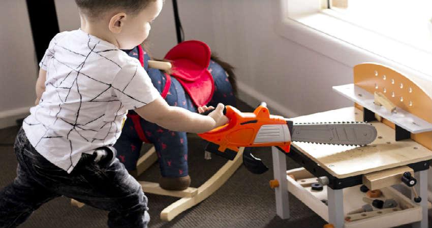 giv motorik legetøj der styrker børn