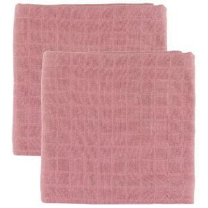 Cam Cam stofbleer er kvadratiske med muslin-struktur