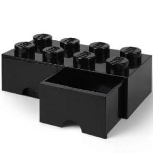 sort Lego opbevaring skuffe