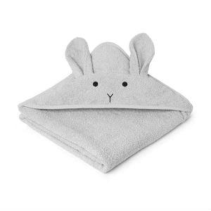 Køb det søde Liewood Rabbit håndklæde