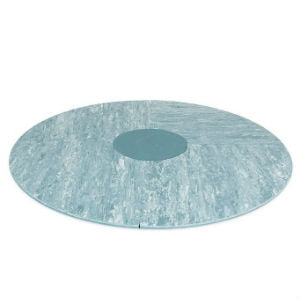 køb det runde marmor blå bObles tumlegulv