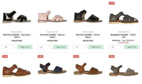 køb de gode sandaler til dit barn