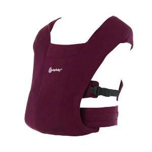 embrace bruges hvis du ønsker at bære baby med fronten udad