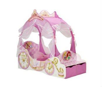 Giv din datter en sød lyserød børneseng