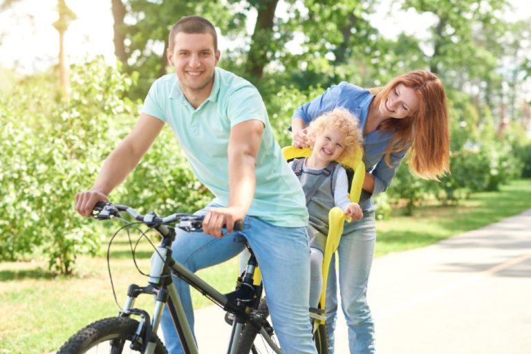 find den bedste cykelstol til børn