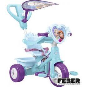 trehjulet cykel med brede hjul og Disneys Frost motiv