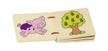 Find de lærerige pegebøger til den lille dreng og pige