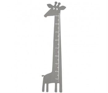 Køb en giraf målstok i træ til børneværelse