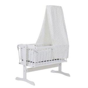 køb en sving vugge med himmel til babyværelset