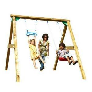 Køb Jungle gym swing gyngestativ til haven