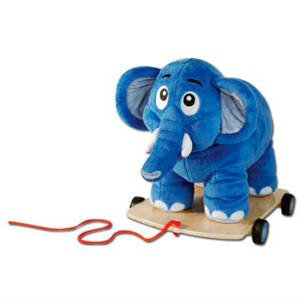 giv det søde Krea elefant trækdyr til 1 årige