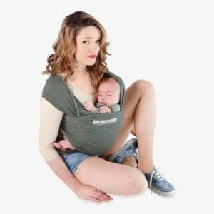 Strækvikle kan anvendes fra fødslen til ca 10 kg.