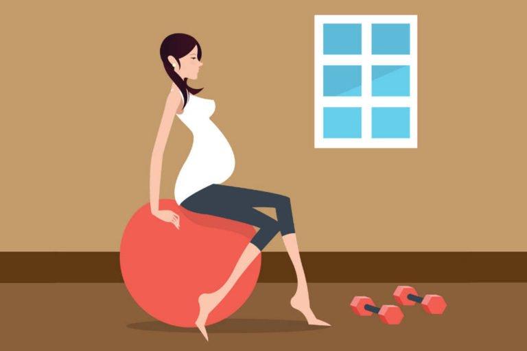 Sådan træner du din bækkenbund efter fødslen