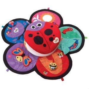 giv det sjove lamaze legetæppe i gave til nye forældre