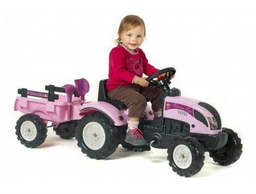 køb pedaltraktor 2 år til piger
