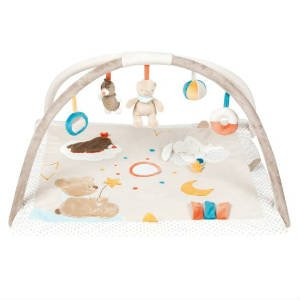 brug det sjove økologiske aktivitetstæppe til babyer