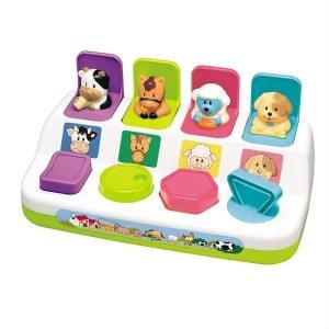 giv det sjove pop-up legetøj til baby