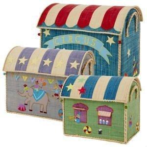 køb de sjove cirkus kasser til opbevaring af legetøj