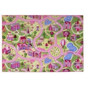 køb Sweet Town rosa legetæppe