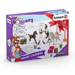 giv julekalender med heste til piger