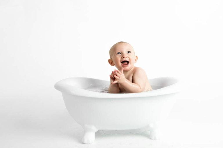 Babybadekar test med de bedste badekar til den lille