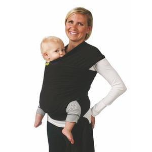 køb en neutral babyslynge i sort
