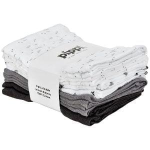 Pakke med 8 stofbleer i forskellige designs